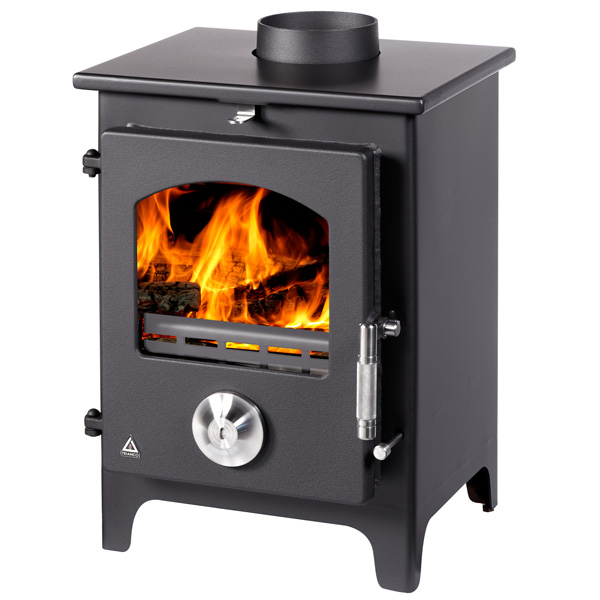 Trianco Newton 5kw Defra Approved Multifuel Wood Burning Stove - Various Colours