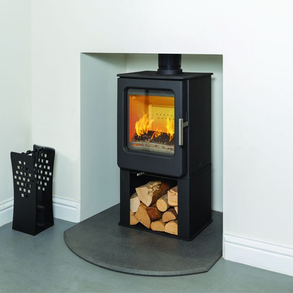 Mendip Ashcott 4.7kw Defra Multifuel Stove With Log Store