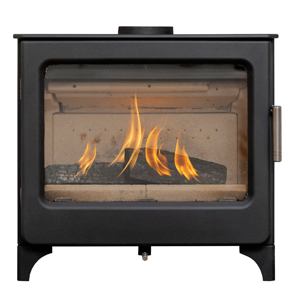 Mendip Ashcott 4.7kw Defra Wood Burning Stove (Wide Version)