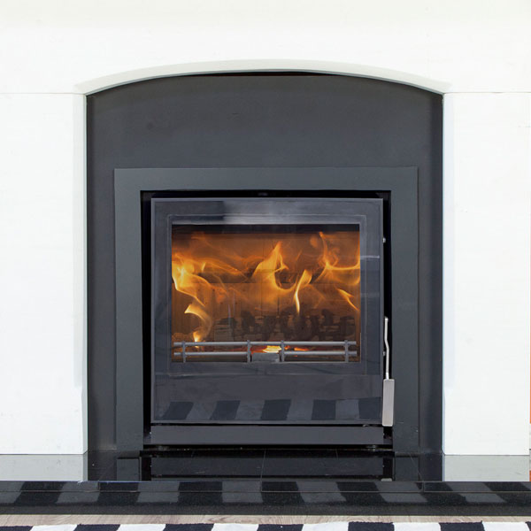 Mendip Christon 550 - 4.8kw Defra Inset Wood Burning Stove