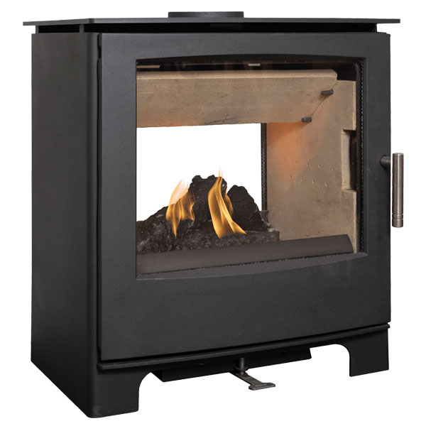 Mendip Woodland MK4 8kw Defra Double Sided Wood Burning Stove
