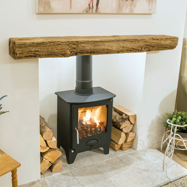Newman Fireplaces Bideford Timber Effect Formulated Beam