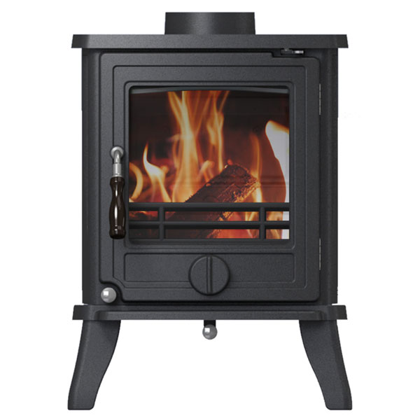 Newman Fireplaces Vista Panoramica 4.9kw Multifuel Stove