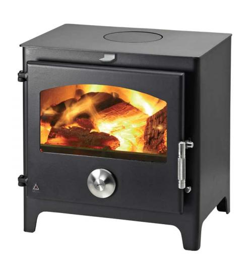 Trianco Newton 8kw Defra Approved Multifuel Wood Burning Stove - Various Colours