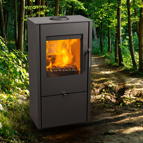 Jydepejsen Nord 1 7kw Wood Burning Stove
