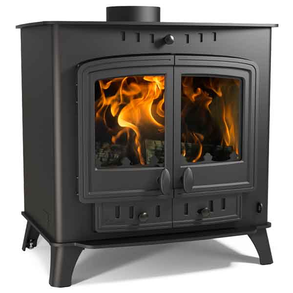 Villager 14 Duo 14.4kw Multifuel Wood Burning Stove