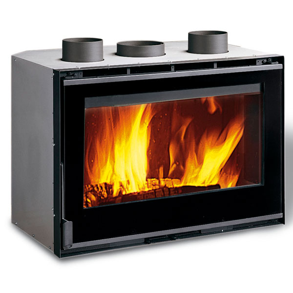 La Nordica 80 Crystal Ventilato - 9kw Inset Wood Burning Stove