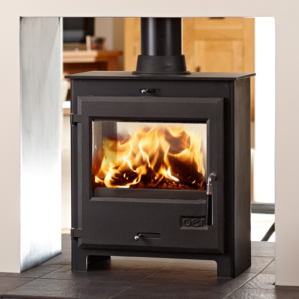 OER 6.4kw Double Vision Defra Multifuel Wood Burning Stove