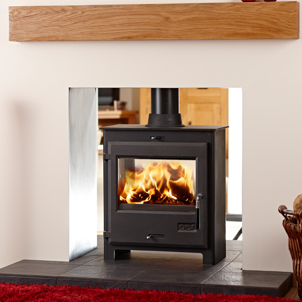 OER 6.4kw Double Vision Defra Multifuel Stove