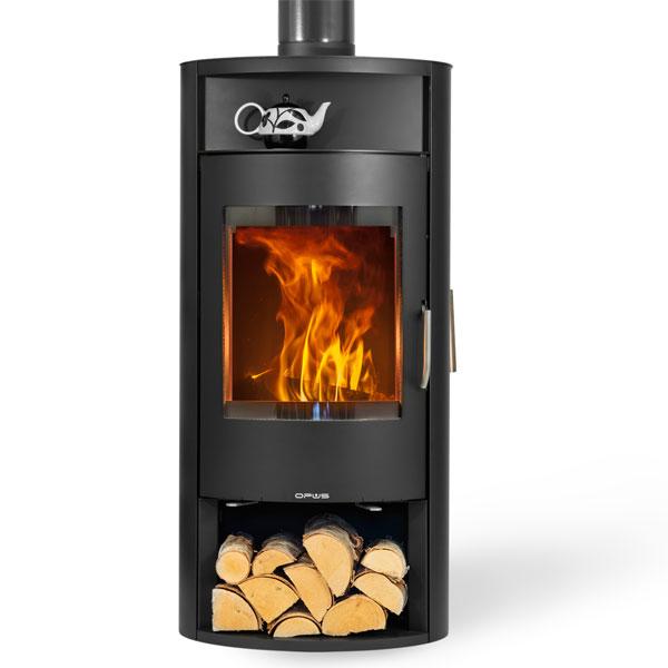 Wood burning boiler