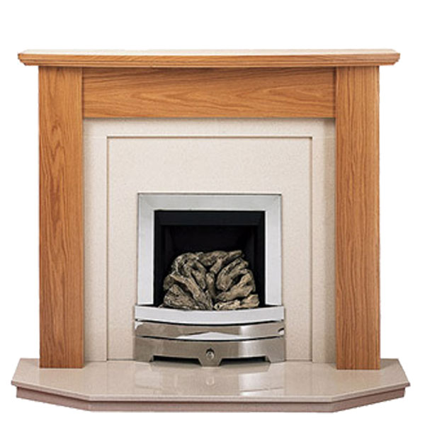 Prestige Orion Hand Crafted Solid Wood Fire Surround - Oak
