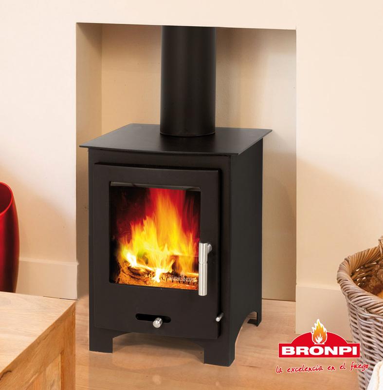 Bronpi Oxford 4 6kw Multifuel Wood Burning Stove