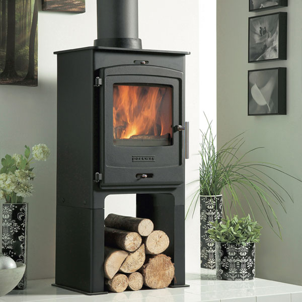 Portway 1 - 4.9kw Defra Multifuel Stove With High Legs