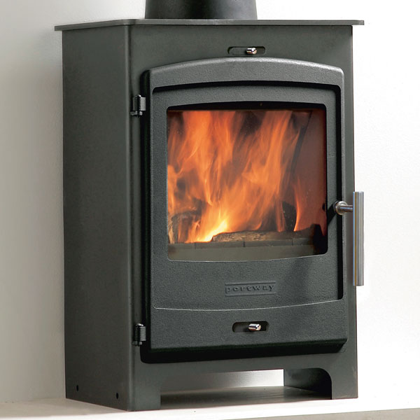 Portway 1 - 4.9kw Defra Multifuel Stove With Low Legs