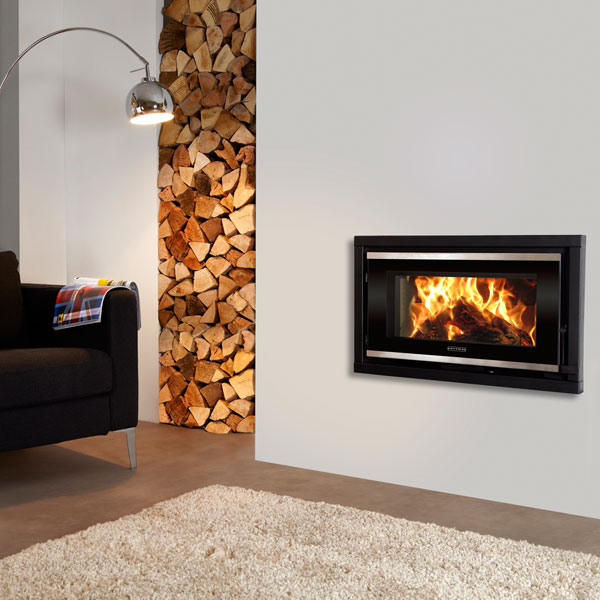Portway Panoramic 6.9kw Defra Wood Burning Cassette Stove
