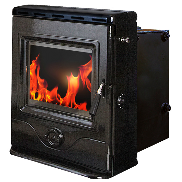 The Precision Inset Boiler 12kw Multifuel Woodburning Stove