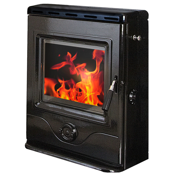 The Precision Inset 4.9kw Multifuel Woodburning Stove