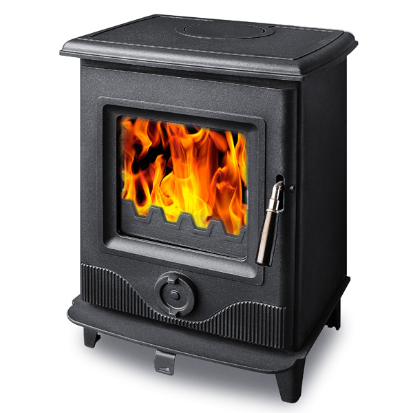 The Precision I 4.9kw Defra Approved Multifuel Woodburning Stove