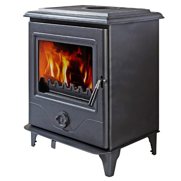 The Precision III 10kw Multifuel Woodburning Stove
