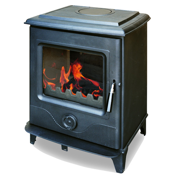 The Precision II 8kw Defra Approved Multifuel Woodburning Stove