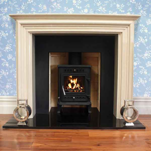 Henley Kells 6kw Multifuel Wood Burning Stove