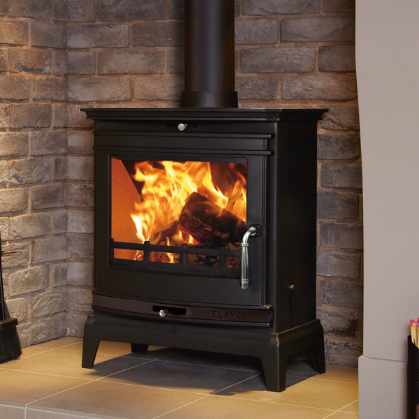 Flavel Rochester 7kw Multifuel (Black Trim)
