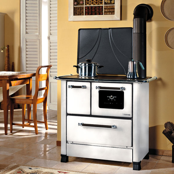 La Nordica Romantica 4 5kw Wood Burning Cooker 163 899 00