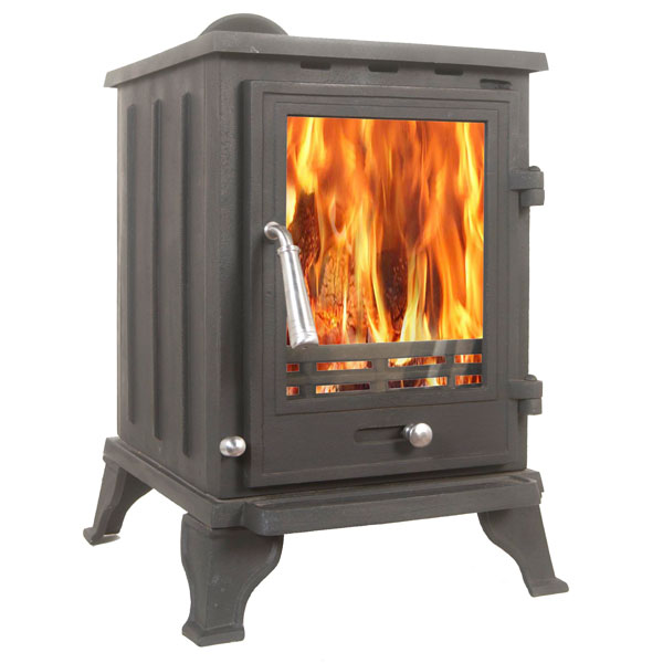 The Rosa 5kw Multifuel Stove