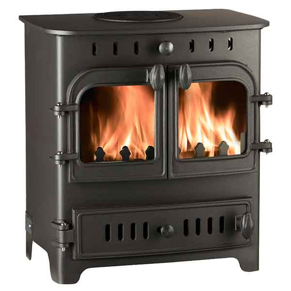 Villager Chelsea Duo 4.9kw Multifuel Wood Burning Stove