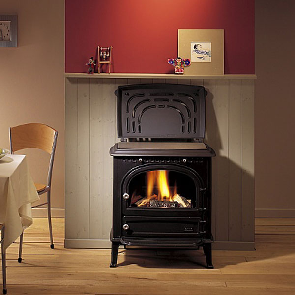 Saey 92 5-14kw Cucina Wood Burning Stove With Cooking Plate
