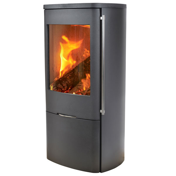Jydepejsen Senza Steel 5kw Defra Wood Burning Stove