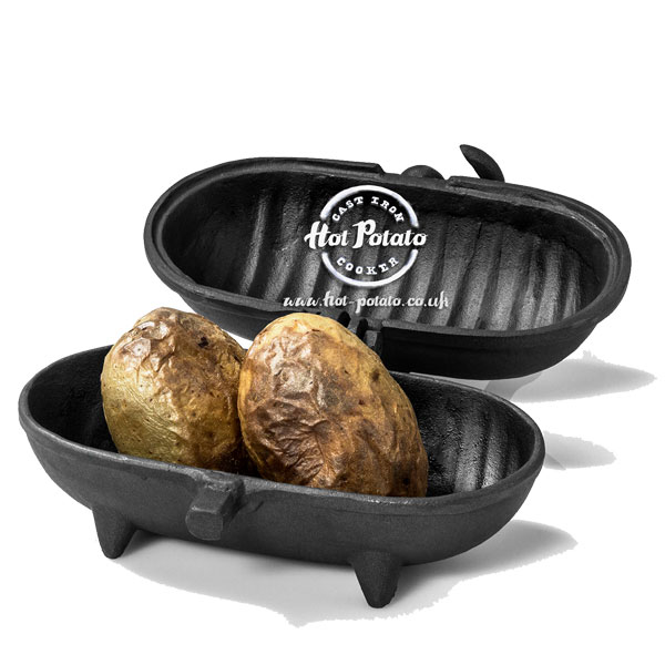 Standard Cast Iron Hot Potato - Potato Cooker