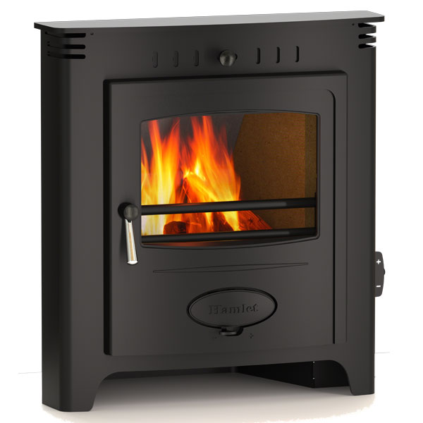 Hamlet Solution 5 - 5kw Inset Multifuel Wood Burning Stove