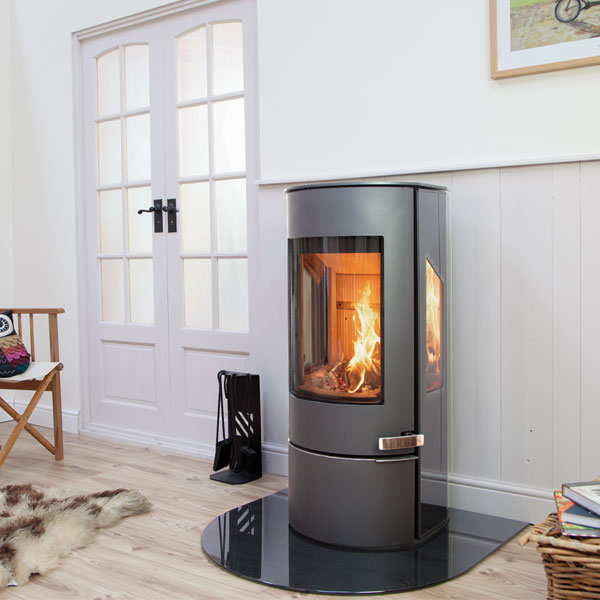 Mendip Somerton - 7.3kw Defra Stove With Side Glass