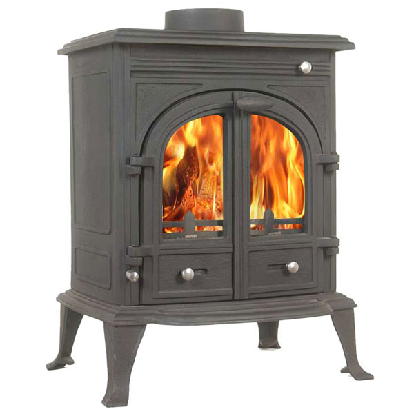 The Bernese 12kw Log Stove And Complete Flue Package 163
