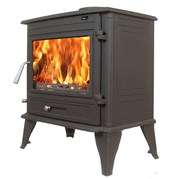 The Olympus 11kw Log Stove And Complete Flue Package 163