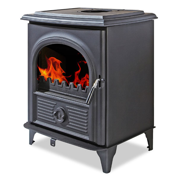 The Alpha III 10kw Multifuel Woodburning Stove