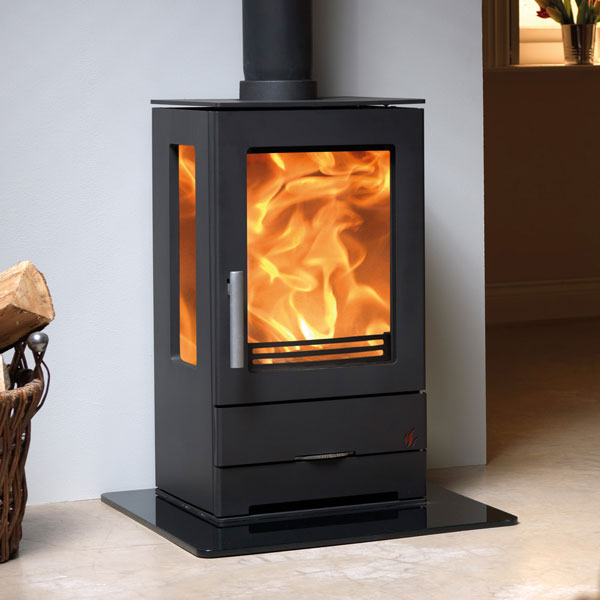 ACR Trinity 3 - 5kw Steel Defra Multifuel Wood Burning Stove