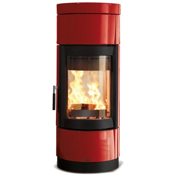 La Nordica Fortuna Bifacciale 7kw Contemporary Wood Burner