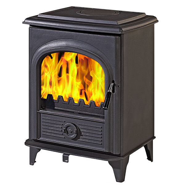 The Alpha II 8kw Defra Approved Multifuel Woodburning Stove
