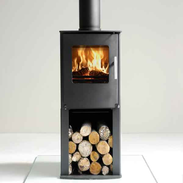Westfire Series One 4.9kw Pedestal Defra Approved Stove