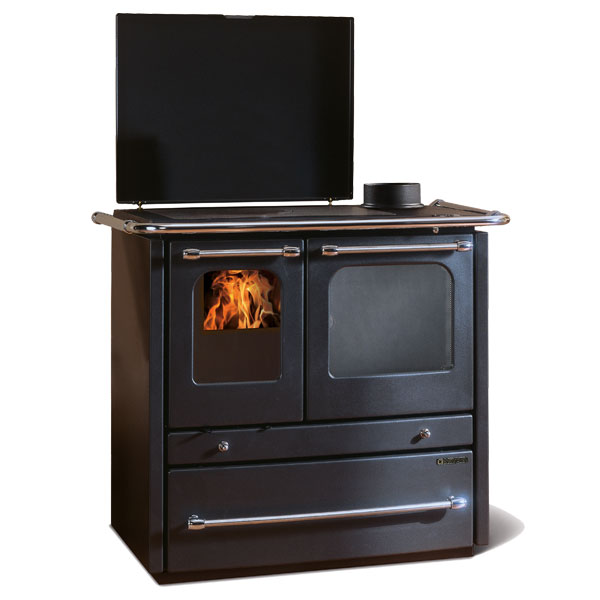 La Nordica Sovrana Wood Burning Cooker and Boiler Stove