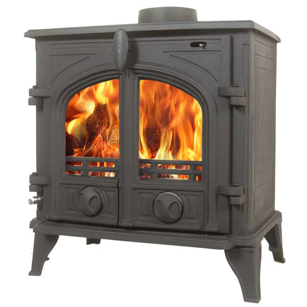 The Victoria 6kw Multifuel Wood Burning Stove ALP VTA CL