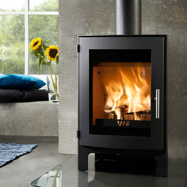 Westfire Uniq 17 5kw Defra Approved Wood Burning Stove