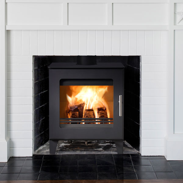 Westfire Uniq 23 6kw Defra Approved Stove 100mm Legs