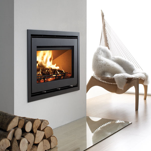Westfire Uniq 32 Inset Wood Burning Stove With Narrow Frame