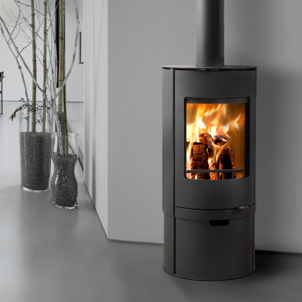 Westfire Uniq 36 7.2kw Pedestal 2 Defra Wood Burning Convection Stove