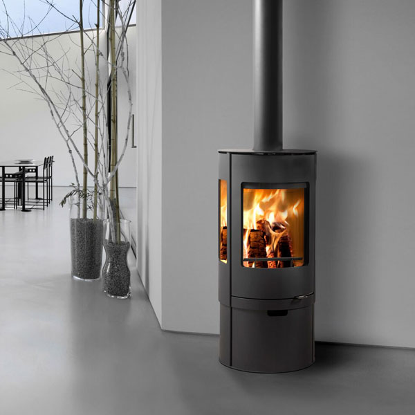 Westfire Uniq 37 7.2kw Pedestal 2 Defra Wood Burning Convection Stove