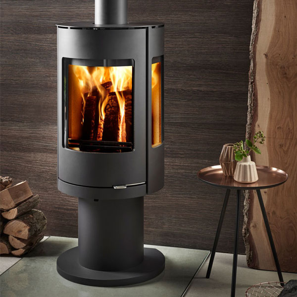 Westfire Uniq 37 7.2kw Pedestal Defra Wood Burning Convection Stove