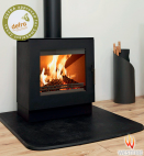 Westfire Uniq 23 6.1kw Defra Stove With 100mm Block